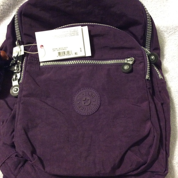Oceano granizo Chispa  chispear  Kipling Bags | Kipling Seoul Small Backpack Dark Purple | Poshmark